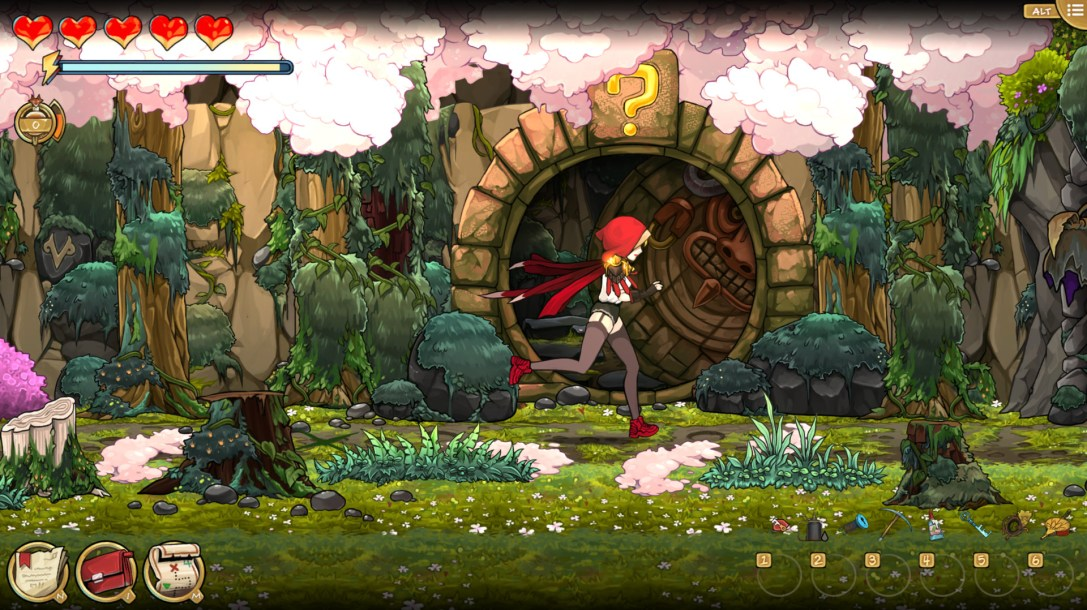 Scarlet Hood and the Wicked Wood  PREVIEW
