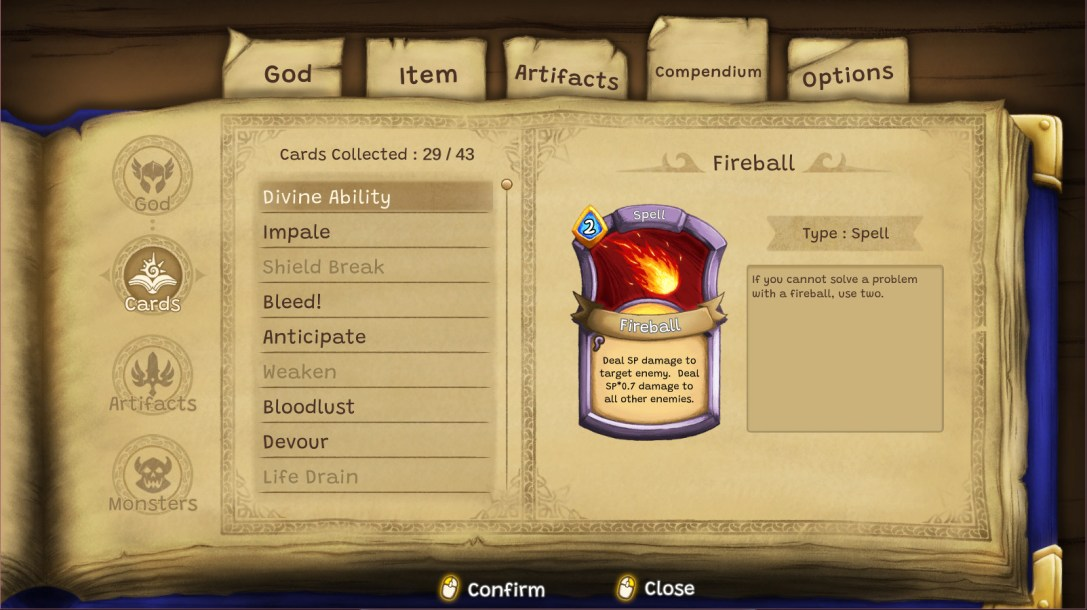 Cardnarok: Raid with Gods  PREVIEW