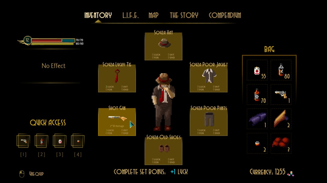 Pecaminosa - A Pixel Noir Game  PREVIEW