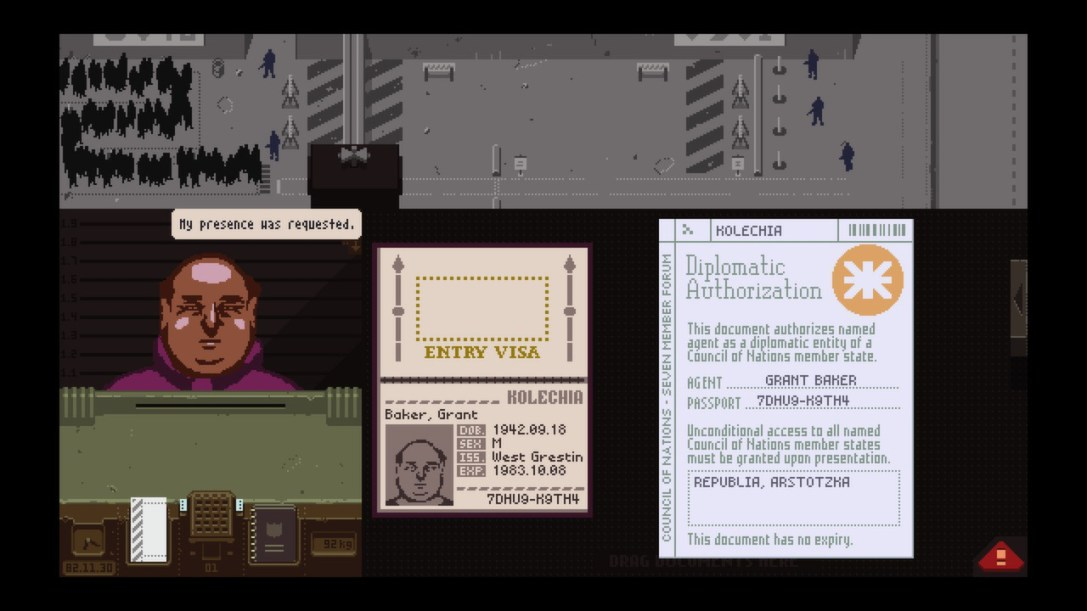 Papers, Please  PREVIEW