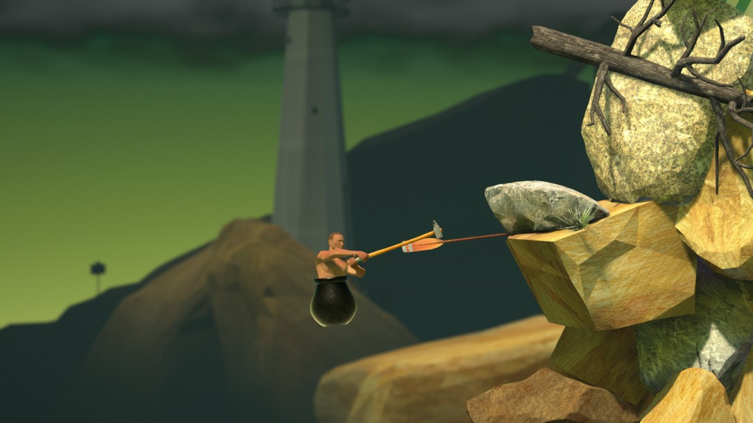 Getting Over It with Bennett Foddy  PREVIEW