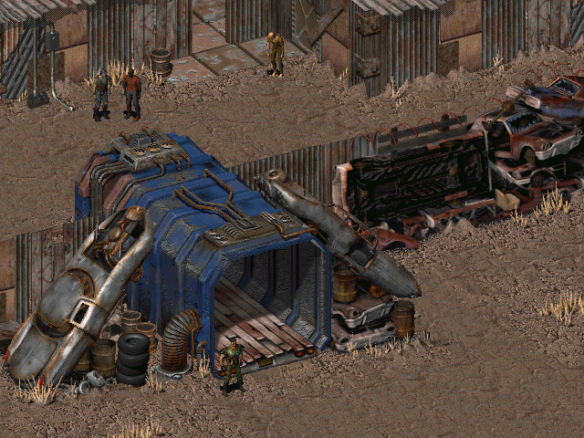 Fallout: A Post Nuclear Role Playing Game PREVIEW