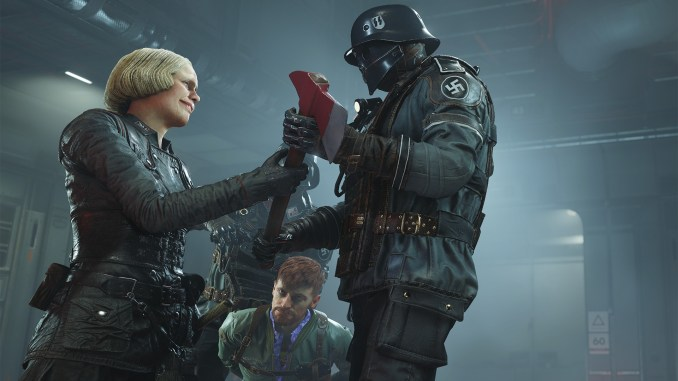Wolfenstein II: The New Colossus screenshot 2