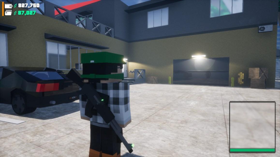 "BLOCK WARRIORS: ""Open World"" Game  PREVIEW"
