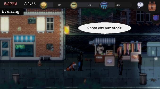 Change: A Homeless Survival Experience screenshot 1