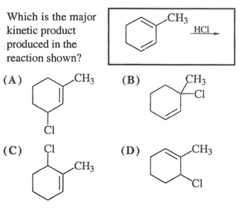Conjugated Hydrohalogenation (1,2 vs 1,4 addition
