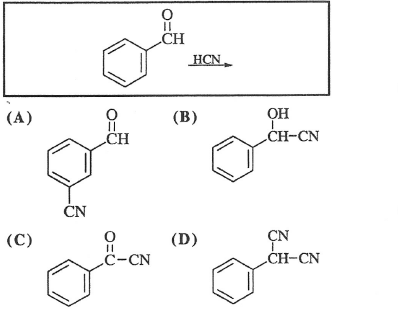 What product is formed in the reaction shown?