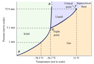A phase diagram is a pressuretemperature  | Clutch Prep