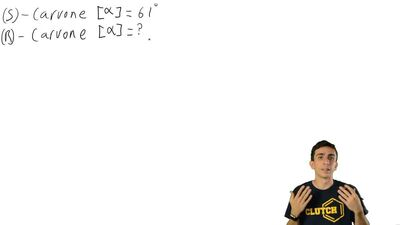 Given that (S)-2-butanol has a specific rotation of