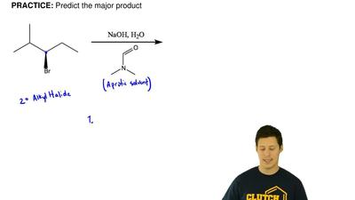 Draw the major product(s) for the following reaction