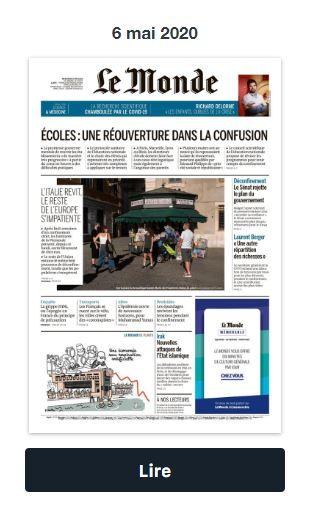 Lire Le Journal Le Monde Gratuitement : journal, monde, gratuitement, Consultez, Gratuitement, Version, Numérique, Journal, Monde, Testons, Ensemble