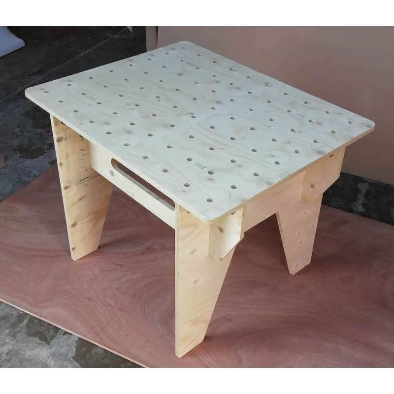 portable workbench router table spruce plywood