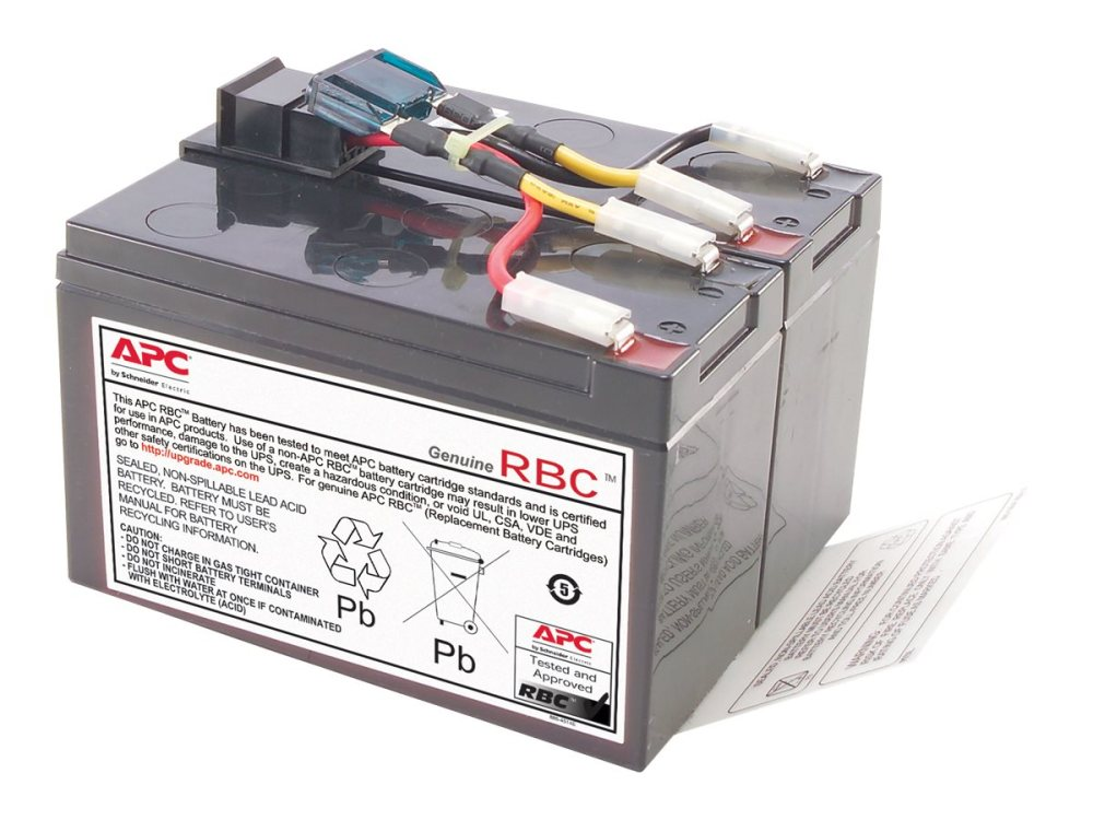 medium resolution of apc rbc48 replacement battery cartridge