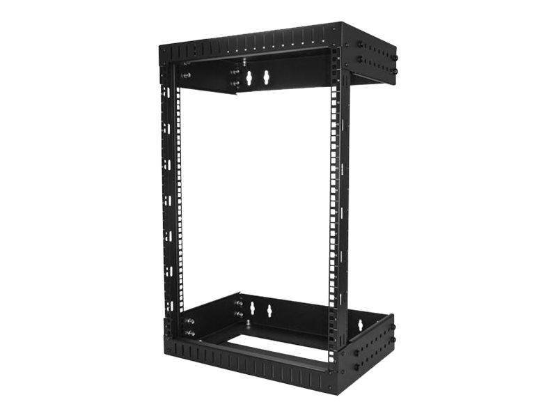 wall mount network rack adjustable