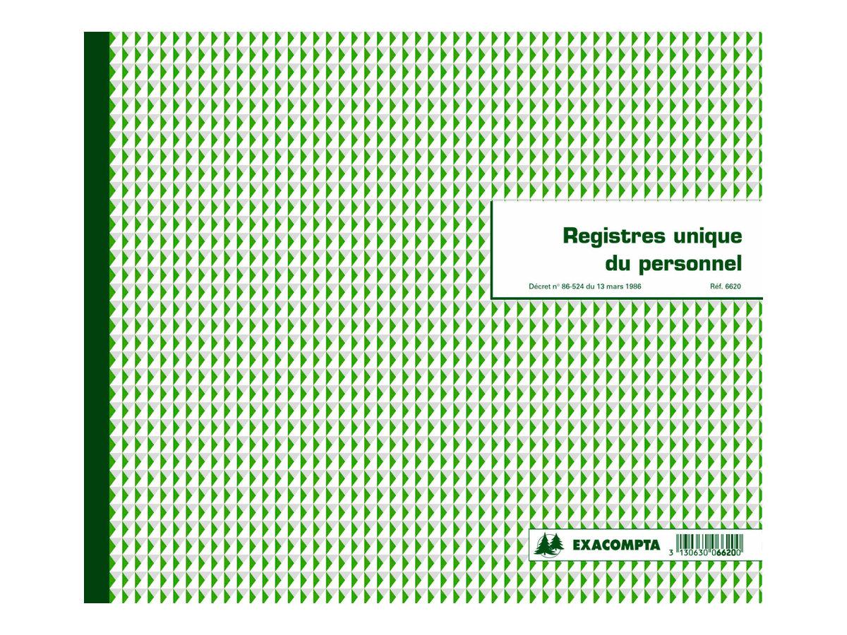 Exacompta Registre Demploys Registres