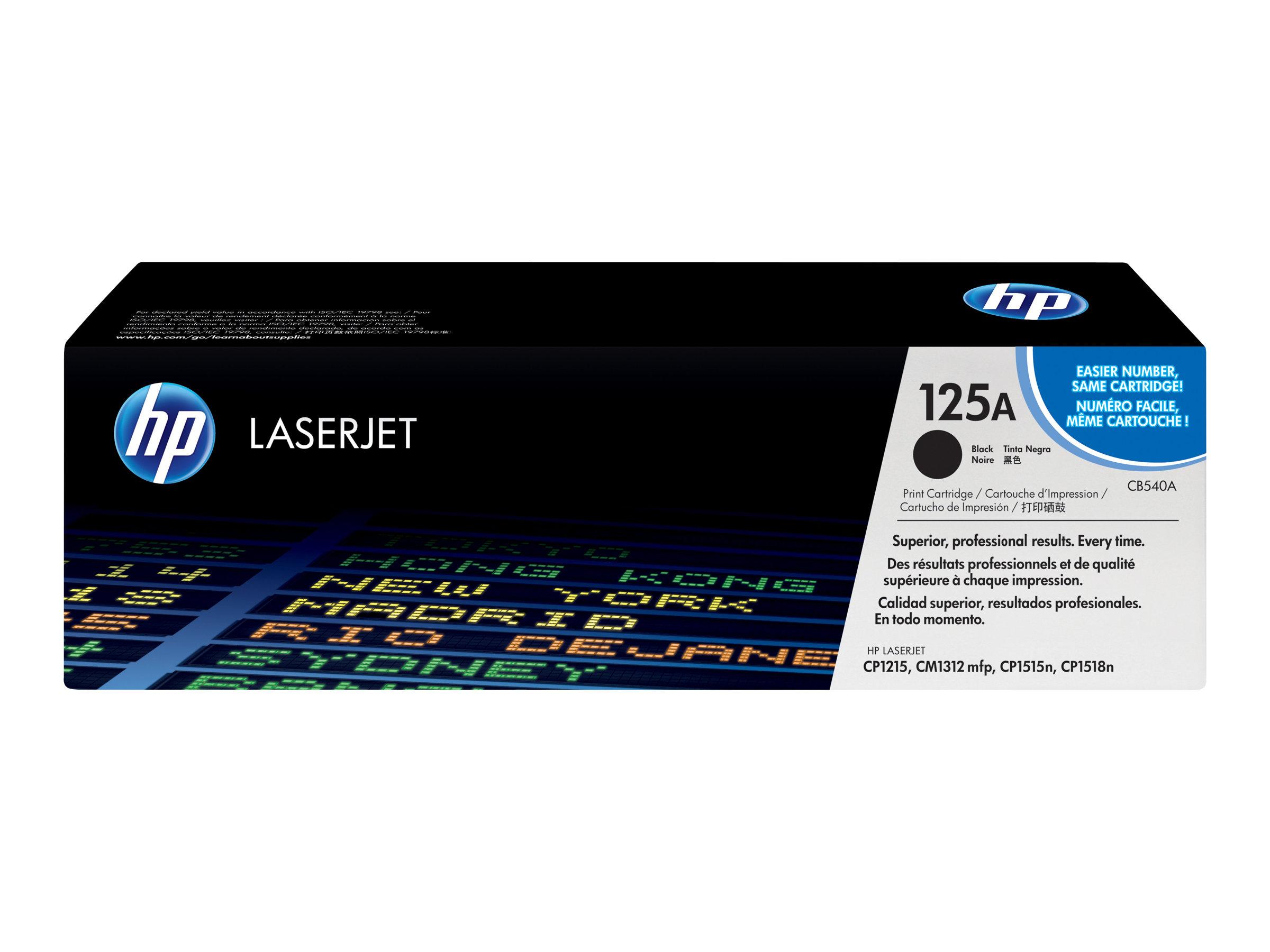 HP 125A Noire Original Toner Hewlett Packard