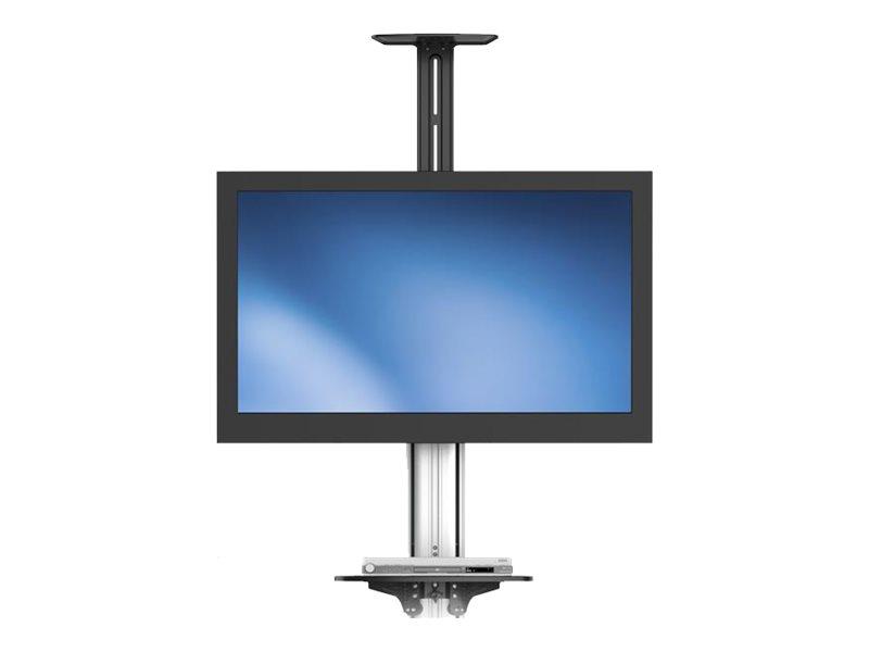 startech com support tv sur pied avec roulettes meuble mobile pour tele ecran plat de 81 cm a 190 5 cm 32 75