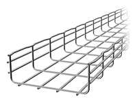 EZTray 10FT x 6IN WIDE x 2IN DEEP CABLE TRAY ZINC COATED