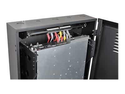 tripp lite 6u wall mount rack enclosure server cabinet vertical 36 22 deep rack 6u