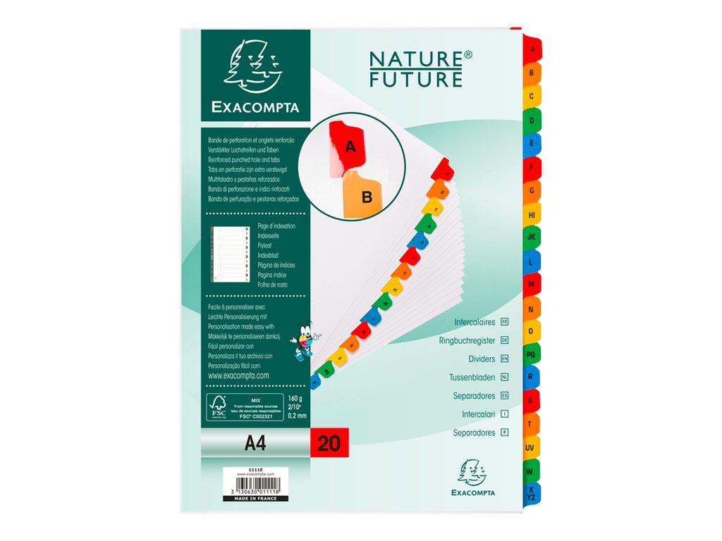 Exacompta Nature Future Intercalaire 20 Positions A