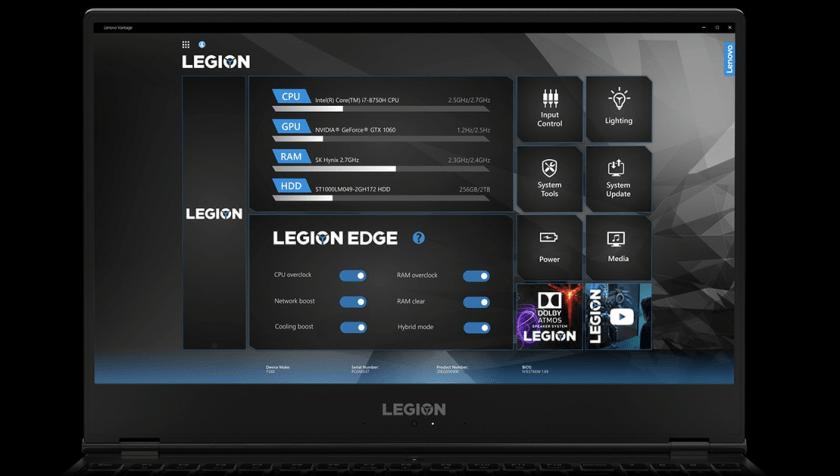 Affinez votre style de jeu avec Lenovo Vantage
