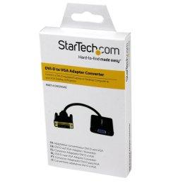 startech com dvi2vgae dvi d to vga active adapter converter cable 1920x1200 dvi to vga converter box newegg com [ 1500 x 1500 Pixel ]