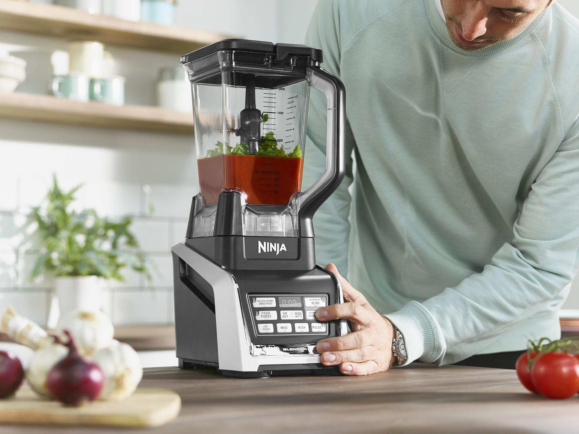 ninja ultra kitchen system light oak cabinets with nutri 1500w bl682uk buy bl682uk2 food processors argos