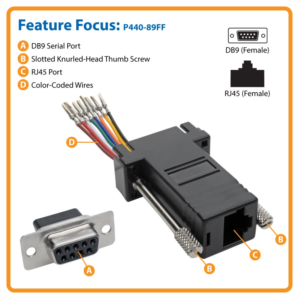 medium resolution of connect a serial device to your network over cat5e 6 cable