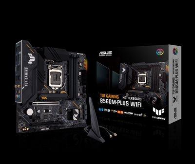 Intel® B560 (LGA 1200) mATX motherboard with PCIe 4.0, two M.2 slots, 8+1 Power stages, Realtek 2.5 Gb Ethernet, Intel® Wi-Fi 6, DisplayPort 1.4, HDMI 2.0, USB 3.2 Gen 2, USB 3.2 Gen 1 Type-C®, Thunderbolt™ 4 support, Aura Sync RGB Lighting, Addressable RGBg