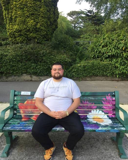 Some people rate movies or restaurants. He rates benches 27