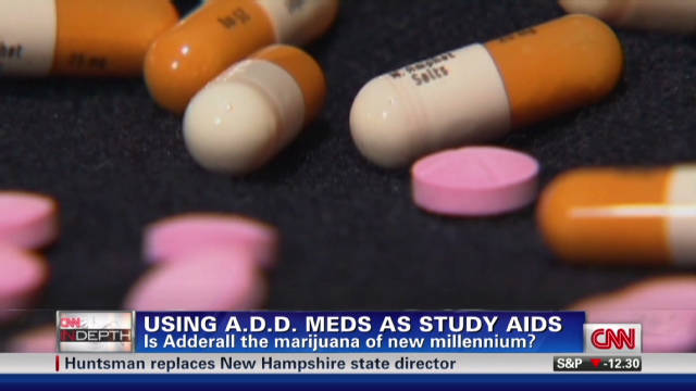 Just Say Yes? The Rise Of 'study Drugs' In College CNN