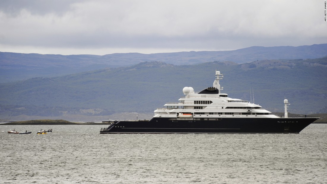 Worlds Biggest Superyacht The Billion Dollar Limit CNN