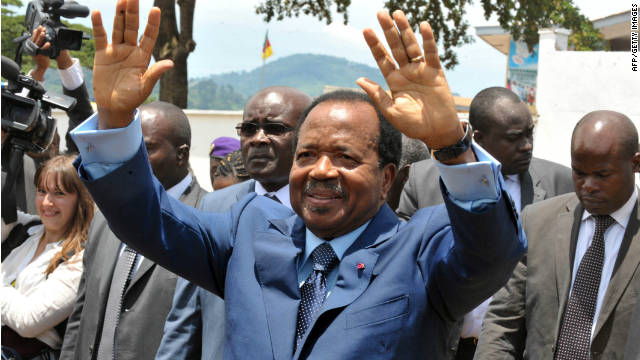 Cameroon's Paul Biya wins seventh term in office
