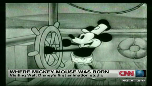 Rebuilding Mickey Mouse's birthplace