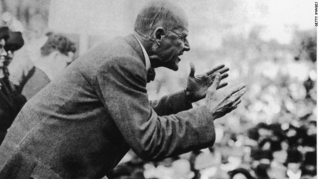 Eugene Debs ran for president five times, the final time from the most unlikely of headquarters.