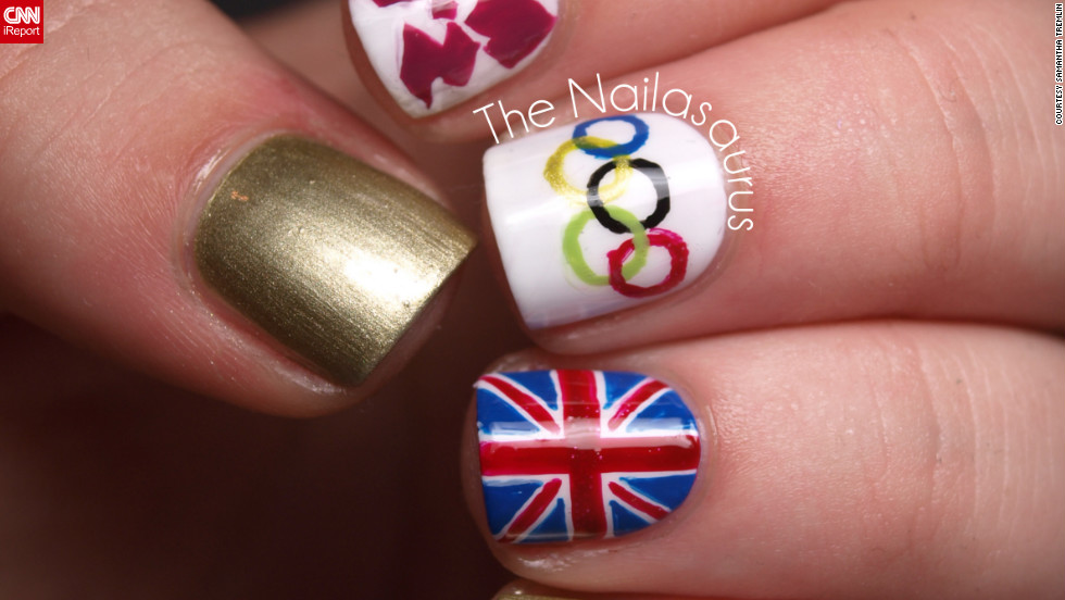 Samantha Tremlin Also Wanted To Show Support For Her Home Country Of Great Britain It