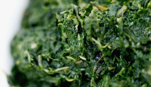 """Spinach is a great source of iron, which is a key component in red blood cells that fuel our muscles with oxygen for energy. But researchers in Sweden identified another way in which these greens might keep you charged: Compounds found in spinach actually <a href=""""http://www.sciencedaily.com/releases/2011/02/110201122226.htm"""" target=""""_blank"""">increase the efficiency of our mitochondria</a>, the energy-producing factories inside our cells. That means eating a cup of cooked spinach a day may give you more lasting power on the elliptical machine (or in your daily sprint to catch the bus)."""