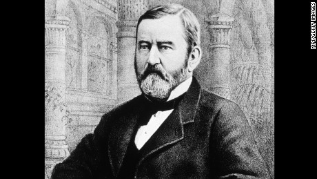 Ulysses S. Grant attended Horace Greeley's funeral after his rival died before the Electoral College vote.