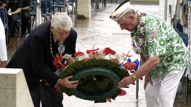 Pearl Harbor survivor, 91, helps identify unknown dead