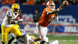 A photo from an old LSU-Clemson matchup, so you can adjust your eyes to the colors.