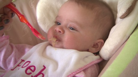 The report states that 95% of baby food in the US contains toxic metals