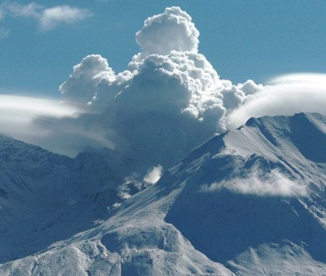 Mount St Helens Is A Volcano In The State Of Washington Seen Here In