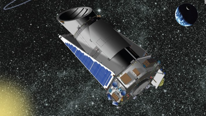 The future of NASA's planet-hunting Kepler space observatory was in question Wednesday after a part that helps aim the spacecraft failed, the U.S. space agency said. Kepler is the first NASA mission capable of finding Earth-size planets in or near the habitable zone, which is the range of distance from a star where the surface temperature of an orbiting planet might be suitable for liquid water. Launched in 2009, Kepler has been detecting planets and planet candidates with a wide range of sizes and orbital distances to help scientists better understand our place in the galaxy.