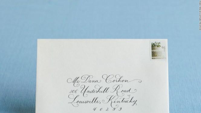 How To Address Wedding Invitations Cnn