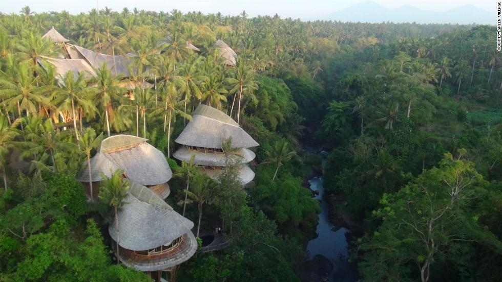 Bali's Luxury Bamboo Villas