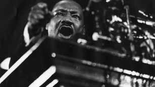 How MLK became an angry black man