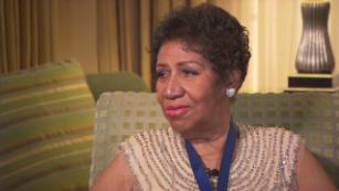 Aretha Franklin talks artists she likes (2014)