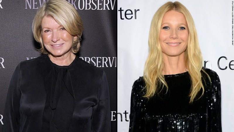 """It seems Martha Stewart isn't the biggest fan of Gwyneth Paltrow's lifestyle brand, GOOP, but Paltrow isn't bothered. After Stewart <a href=""""http://pagesix.com/2014/09/12/martha-stewart-thinks-gwyneth-paltrow-should-stick-to-acting/"""" target=""""_blank"""">commented </a>in an interview that Paltrow """"just needs to be quiet"""" and not try """"to be Martha Stewart,"""" Paltrow took it as a compliment. """"I'm so psyched that she sees us as competition,"""" the actress said in October."""