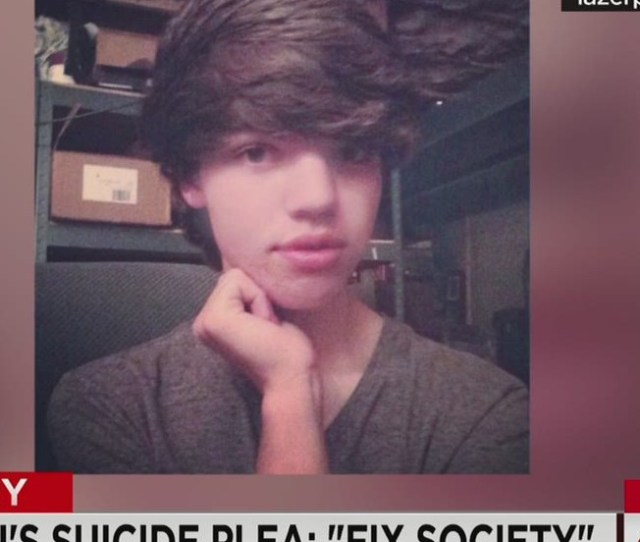 Transgender Teen Pleads To Fix Society