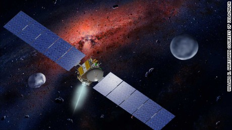 NASA's Dawn mission to strange places in our solar system ends